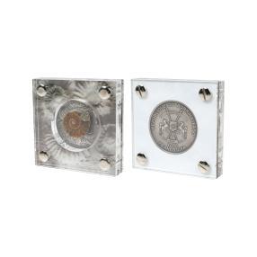 Silber-Urzeitmünze Ammonite