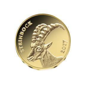 Gold Klassiker Alpensteinbock