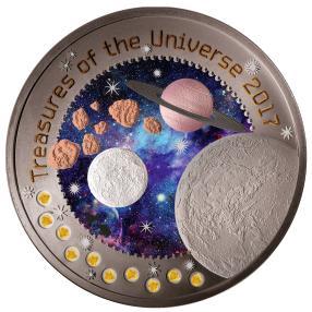 10in1 Münze Schätze des Weltalls