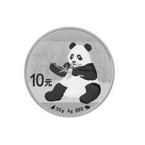 Bull & Bear Black & White Line China Panda 2017