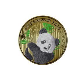 1 KG Münze Panda 2018