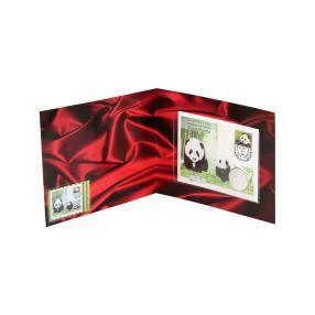 U.N.- Panda 2014 Silbermünzbrief