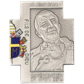 Kreuzmünze Johannes Paul II. Heiligsprechung