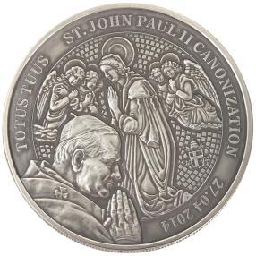 Johannes Paul II. Silbermünze