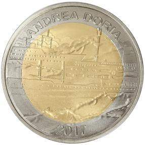 Andrea Doria Bimetallmünze