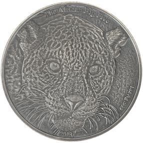 BIG5 Leopard Silbermünze