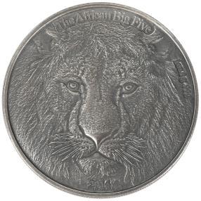BIG5 Löwe Silbermünze
