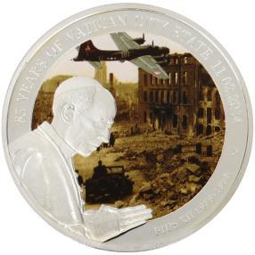 Pius XII Silbermünze