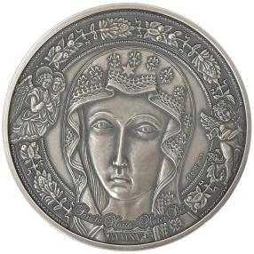 Heilige Maria Silbermünze