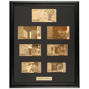 Goldbanknoten Euro-Replika