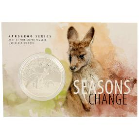Känguru Silbermünze - Season Change