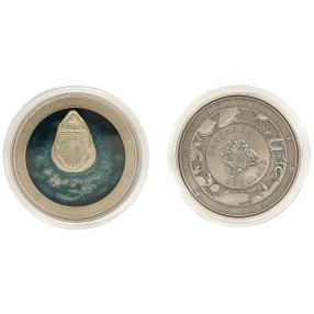 Weißer Hai Münze