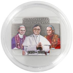 Kreuzmünze 3-Päpste-Jahr