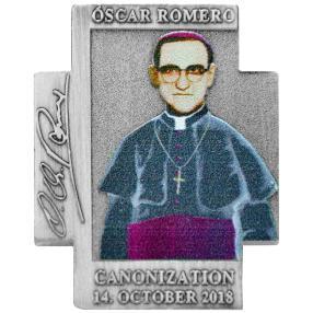 Kreuzmünze Oscar Romero