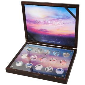 Silbermünzen Kollektion Tiere