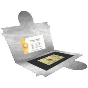 Goldbanknoten-Replika 100DM