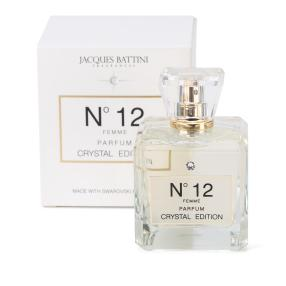 JACQUES BATTINI Swarovski N12, femme 100 ml