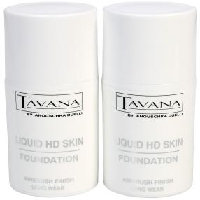 TAVANA HD Skin Foundation 2er Set, Farbe 02