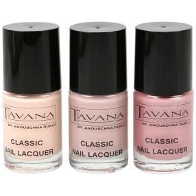 TAVANA Gel Nail Lacquer Classic, 3er Set