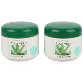 Aloe Vera Creme Tagescreme und Nachtcreme je 125ml