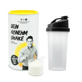 Dein Abnehm Shake & Shaker Starterset Vanille