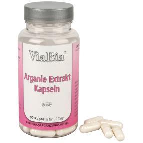 ViaBia Arganie Extrakt Kapseln 90 Stk.