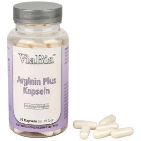 ViaBia Arginin PLUS B Kapseln 90 Stk.