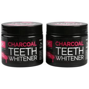 XPEL Charcoal Zahnweiß Pulver 60g - 2er Set