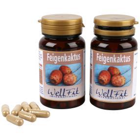 Wellfit Feigenkaktus 60 Kapseln 2er Pack