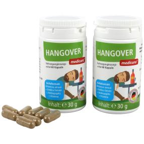 Wellfit Hang Over 60 Kapseln 2er Pack