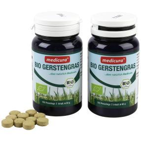 Wellfit Bio Gerstengras 165 Presslinge 2er Pack
