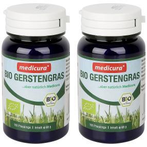 medicura Bio Gerstengras 165 Presslinge 2er Set