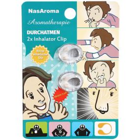 NasAroma Durchatmen Nasenclip 2er Pack