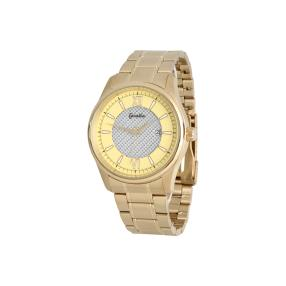Cacalla Herrenuhr Solar Gold