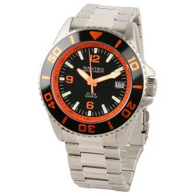 "NAUTEC Herren-Taucheruhr ""Minesweeper"" orange"