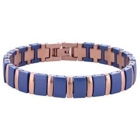 Alexander Milton Armband blau/roségold