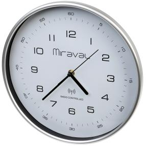 Miraval Funkwanduhr mit Batterie