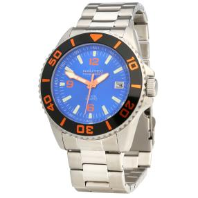 "NAUTEC Herrenuhr ""Minesweeper"" schwarz orange"