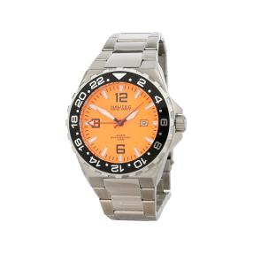 "NAUTEC Herrenuhr ""Coastguard 2"" Quarz orange"