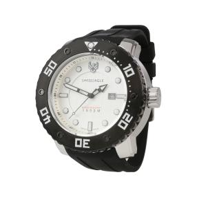 "SWISS EAGLE XXL Herren-Taucheruhr ""Abyss"" Quarz"