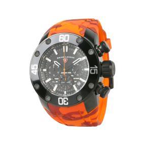 "SWISS LEGEND Herren-Chronograph ""Lionpulse"" orange"