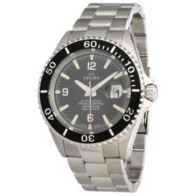 """DELMA """"Santiago Automatic Chronometer"""" schwarz"""