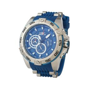 """INVICTA XXL Herren-Chronograph """"Speedway"""" blau"""
