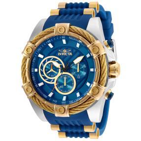 "INVICTA Herren-Chronograph ""Bolt"" blau"
