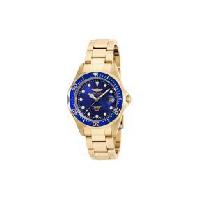 """INVICTA Unisexuhr """"Pro Diver"""", gold + blau"""
