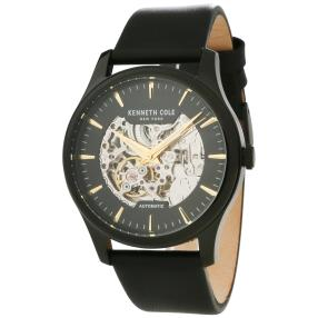 Kenneth Cole Herren-Automatikuhr skelettiert