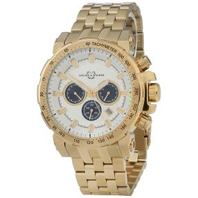 Spears & Walker Herren Chronograph Verendus gold
