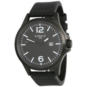 KIENZLE Pilot-Watch Lederband schwarz Vintage