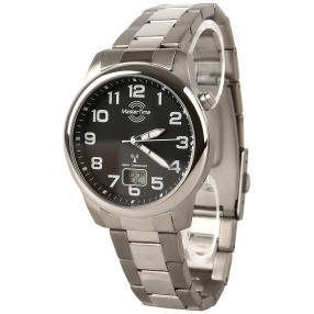 Unisex Uhr Master Time Titan-Funkuhr, Titanband