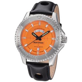 "Kronsegler Herrenuhr ""Mission Impossible"" orange"